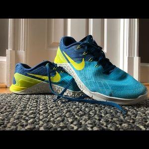 Nike Metcon 3 blue/blue/neon yellow